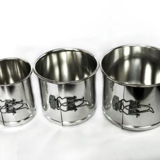 Набор металлических форм для пасхи 3в1