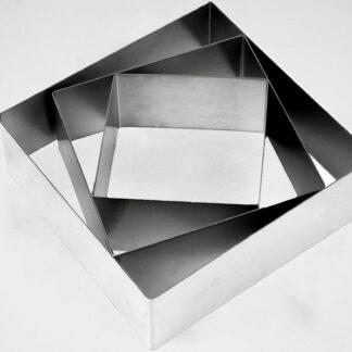 Кондитерские металлические квадраты