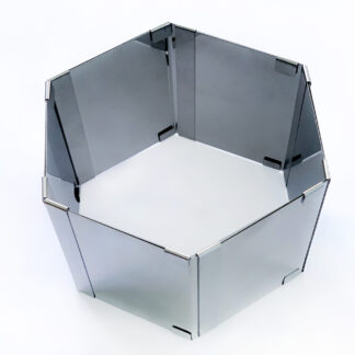 раздвижная кондитерская шестиугольная форма