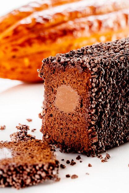 Форма для випічки кексів «Kolobok Profi Cake» з трубкою для начинки